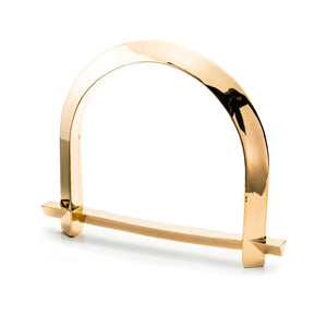 ARC BANGLE - GOLD PLATED BRASS
