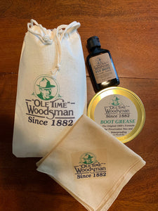 "Great Gift Pack for All of those who Love the Great Outdoors! (Free Shipping in USA) - Ole Time Woodsman Fly Dope ""Since 1882, The World's First and Best Protection Against All Biting Insects!"""