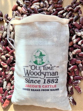 Ole Time Woodsman Original Recipe Jacob's Cattle Dried Beans (Free Shipping in USA) - Ole Time Woodsman Fly Dope