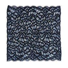 Load image into Gallery viewer, Duchess Pocket Square in Black Sand.