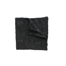 Load image into Gallery viewer, Fantasia Set and Pocket Square - Black Sand