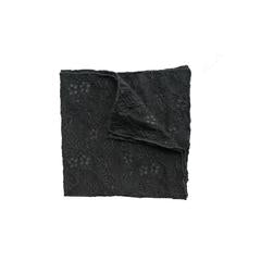 Fantasia Set and Pocket Square - Black Sand