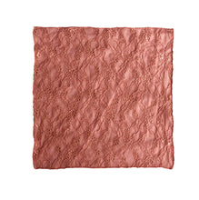 Load image into Gallery viewer, Fantasia Pocket Square in Bellini Pink unfolded.