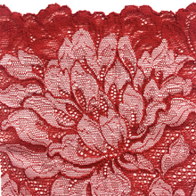 Load image into Gallery viewer, Passion Red Mezzanotte fabric swatch.