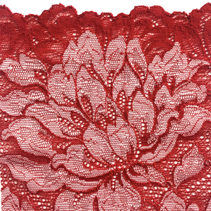 Passion Red Mezzanotte fabric swatch.