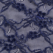 Load image into Gallery viewer, Venetian blue Fantasia lace swatch.