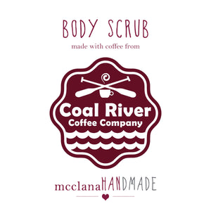 coffee & sugar body scrub