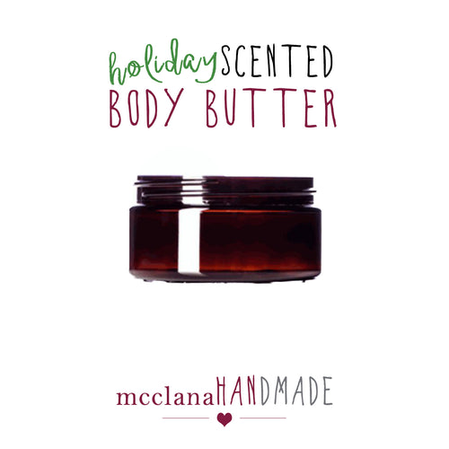 holiday scented body butter