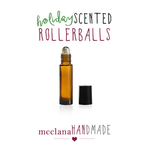 holiday scented perfume rollerballs