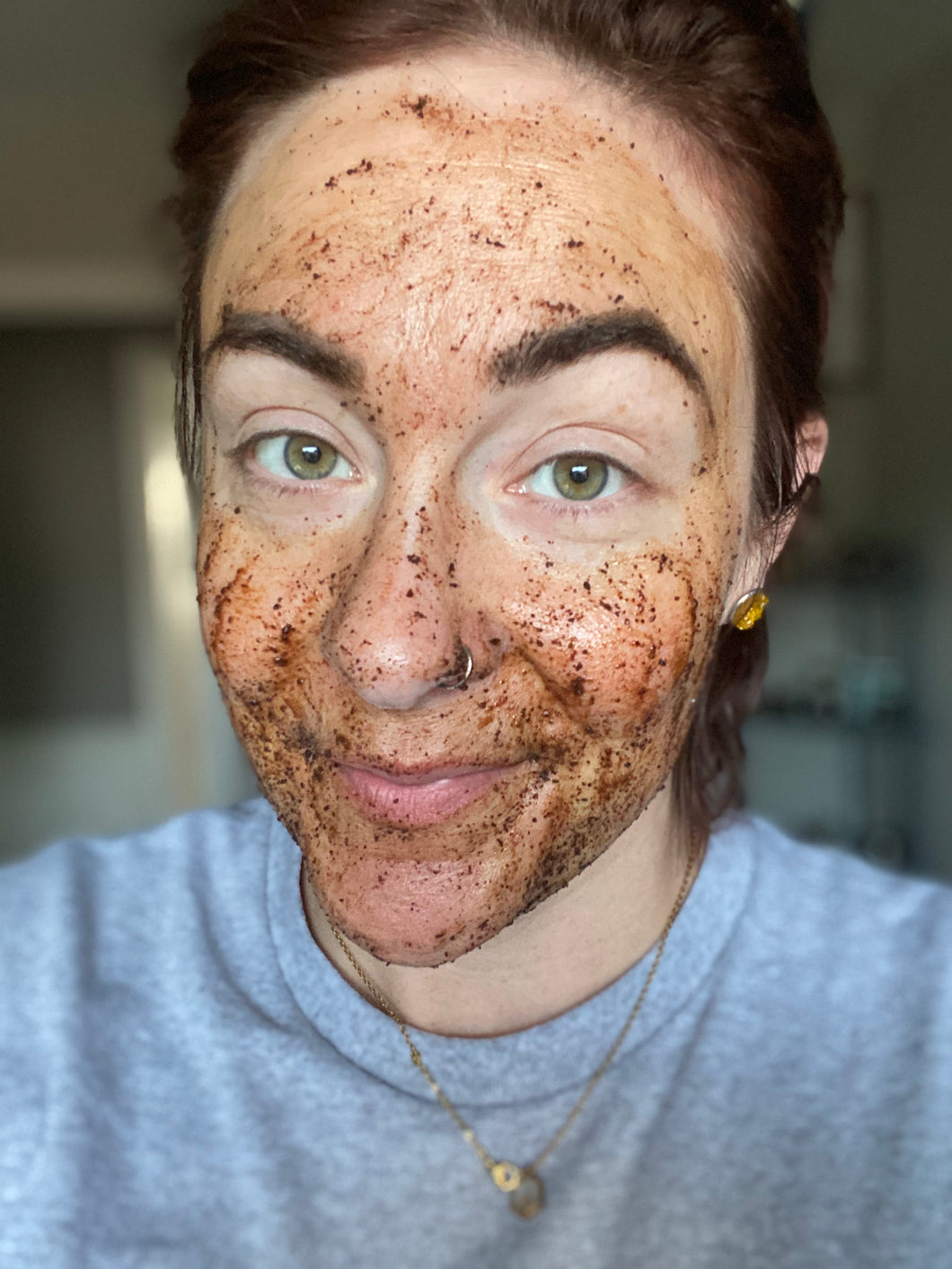 coffee & sugar face scrub