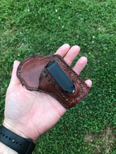 Load image into Gallery viewer, custom leather conceal carry holster