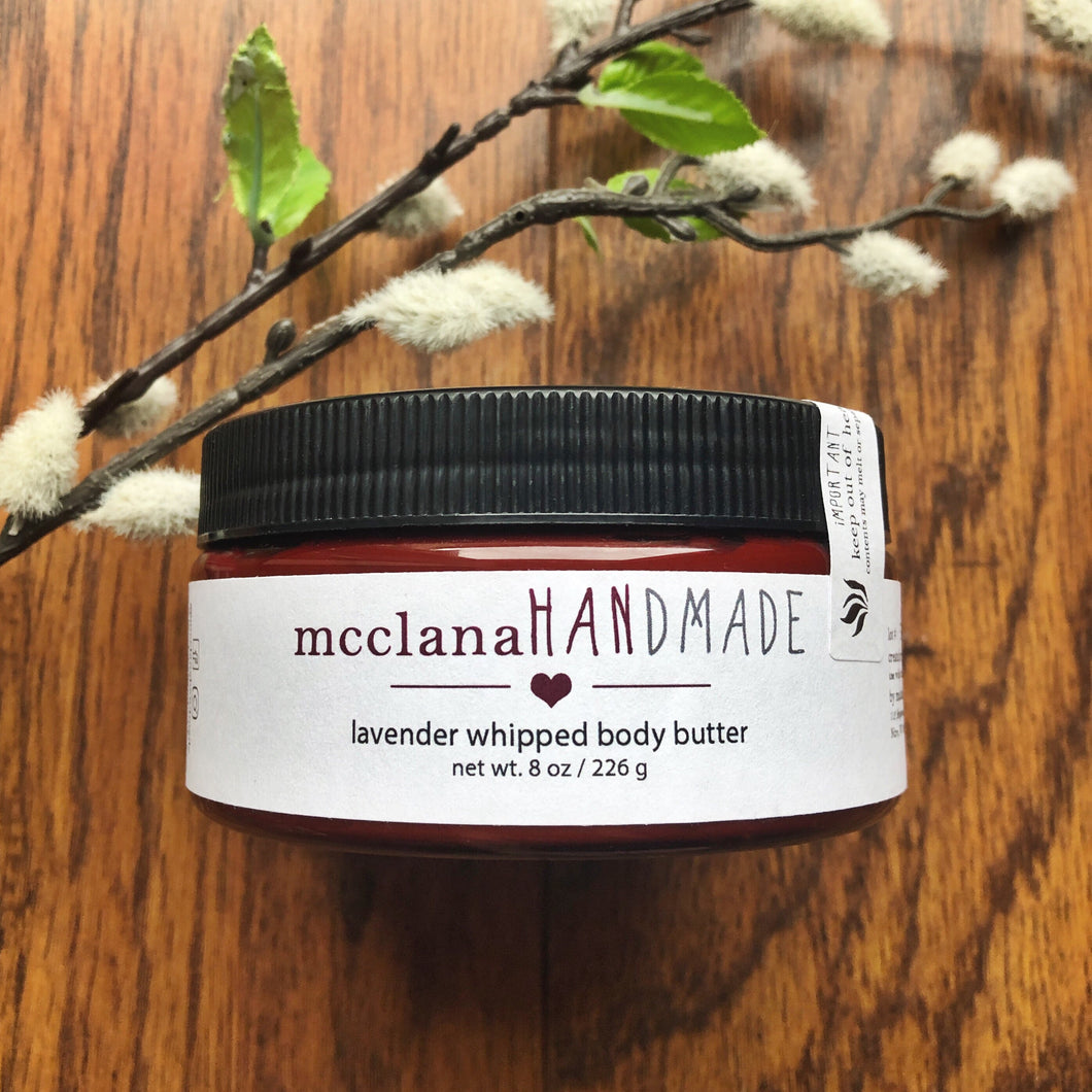 whipped body butter : specialty scents