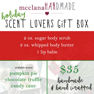 holiday scent lovers gift box