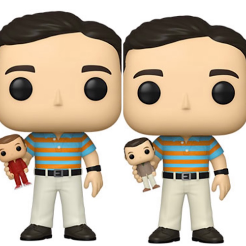 Pop! Movies: 40 Year Old Virgin- Andy holding Oscar with chance at Chase
