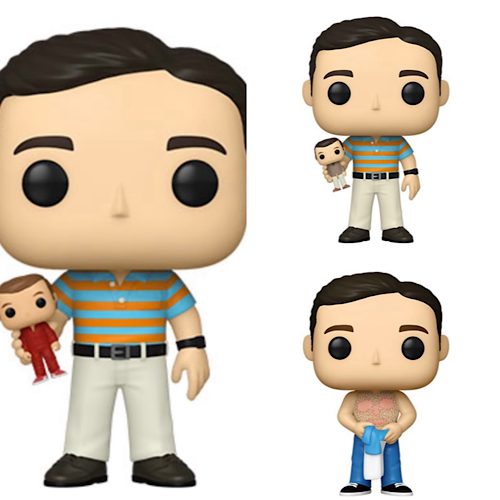 Pop! Movies: 40 Year Old Virgin with Chase Set