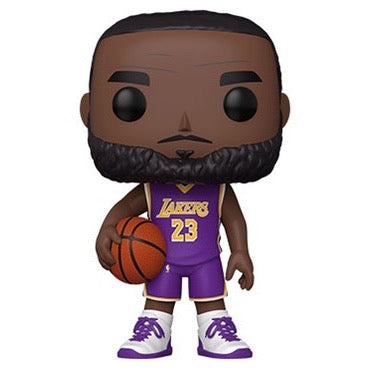 Lebron James (10 Inch), Purple Jersey, #98