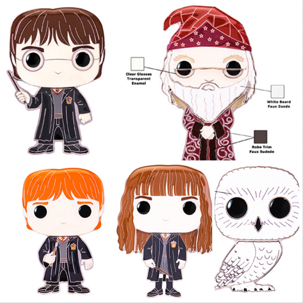 Harry Potter -Large Enamel Pin (Individuals/Full set with chase) - Smeye World