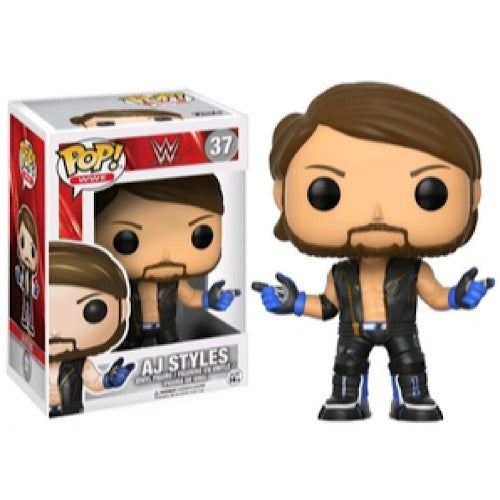 AJ Styles, #37, (Condition 7/10)