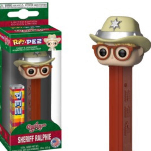 Funko PEZ: A Christmas Story - Sheriff Ralphie Funko Pop! Pez: Toy - Smeye World