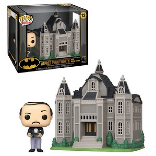 Alfred Pennyworth with Wayne Manor, Town, #13, (Condition 9/10) - Smeye World