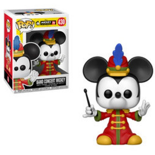 Band Concert Mickey, #430, (Condition 6.5/10)