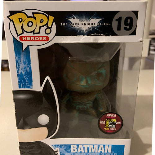 Batman, Patina, 2012 SDCC, #19, (Condition 7/10)