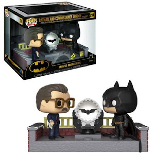 Batman and Commissioner Gordon, Movie Moment, Light Up, #291, (Condition 7/10) - Smeye World