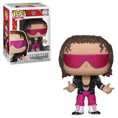 "Bret ""Hit Man"" Hart, #68, (Condition 8/10)"