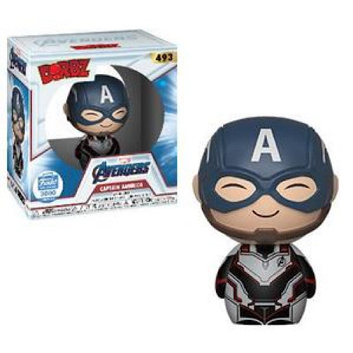 Captain America, Quantum Realm Suit, LE 3000, Funko Shop Exclusive, Dorbz, #493,  (Condition 7.5/10) - Smeye World