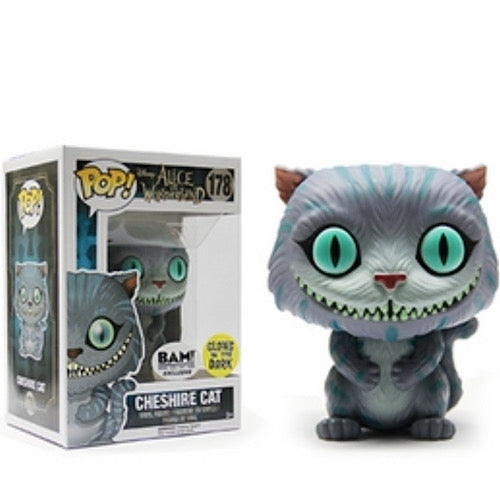 Cheshire Cat, BAM! Exclusive, Glows in the Dark, (Condition 8/10) - Smeye World