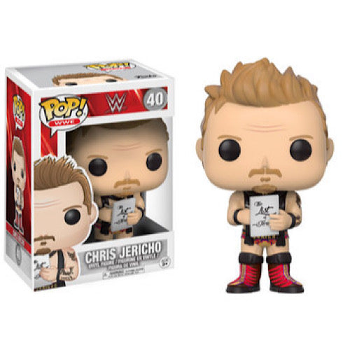 Chris Jericho, #40, (Condition 7.5/10) - Smeye World