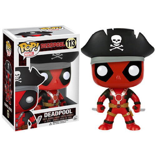 Deadpool (Pirate), Hot Topic Exclusive, #113, (Condition 7/10)