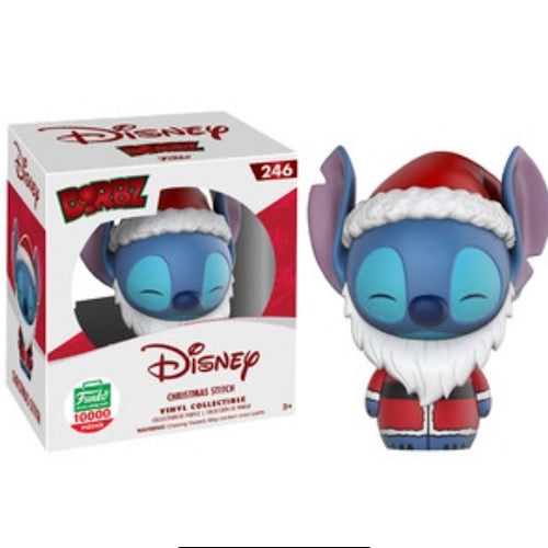Christmas Stitch, (Lilo and Stitch), Dorbz, LE10000, Funko Shop Exclusive, #246, (Condition 9/10) - Smeye World