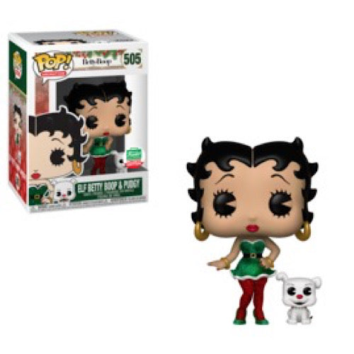 Elf Betty Boop & Pudgy, Funko-Shop Exclusive, #505, (Condition 8/10) - Smeye World