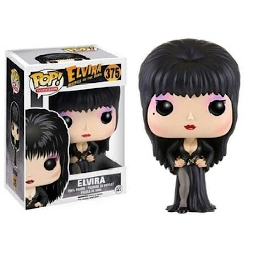 Elvira, Black Dress, #375, (Condition 7.5/10) - Smeye World