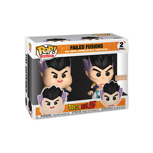 Failed Fusions, 2 Pack, Boxed Lunch Exclusive, (Condition 8/10)