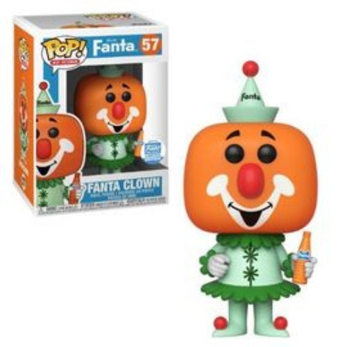 Fanta Clown, Funko Shop Limited Edition, #57, (Condition 7.5/10)