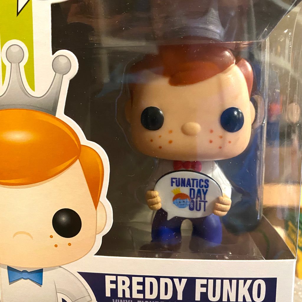 Freddy Funko (Funatic's Day Out), Funday's Exclusive, Released 2015, (Condition 7.5/10) - Smeye World