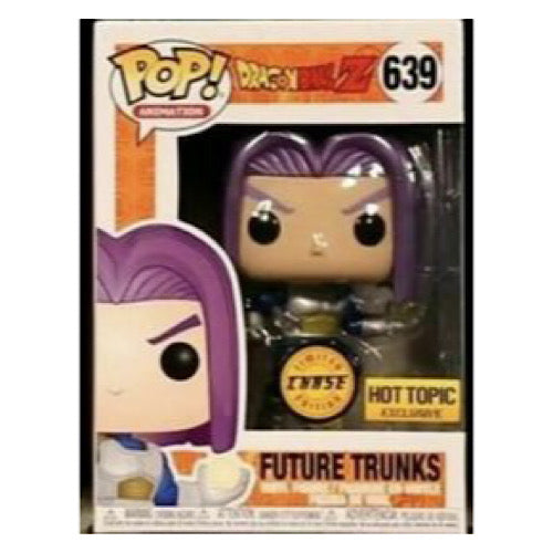 Future Trunks, Chase, Metallic ,Hot Topic Exclusive, #639, (Condition 8/10)