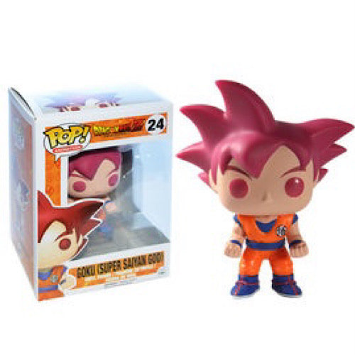 Goku (Super Saiyan God), #24, (Condition 7/10)