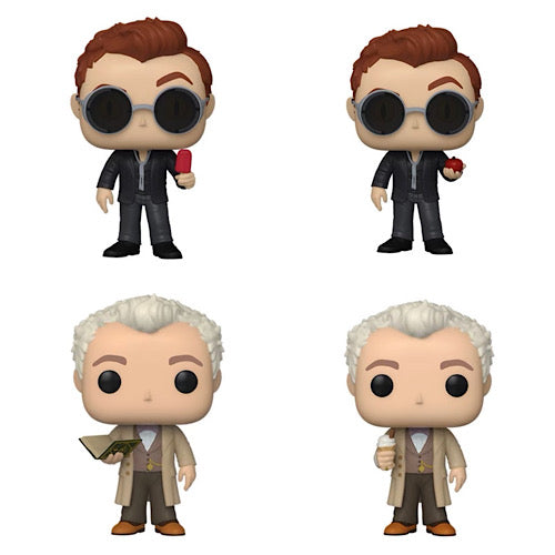 Pop! TV: Good Omens Set with 2 Chases