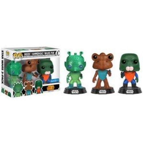Greedo/ Hammerhead/ Walrus Man, Walmart Exclusive, (Condition 7/10) - Smeye World