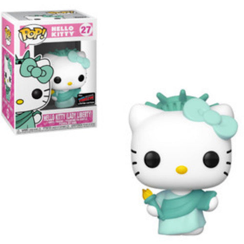 Sanrio Hello Kitty LE300 NYCC 2019 Exclusive includes exclusive Pop! Lady Liberty - Smeye World