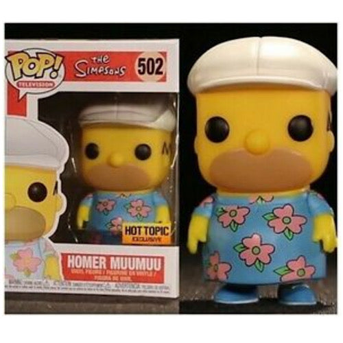 Homer Muumuu, Hot Topic Exclusive, (Condition 8/10) - Smeye World