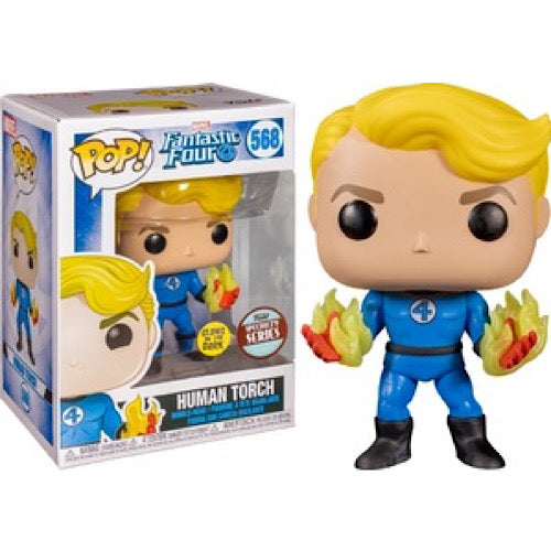 Human Torch, Glow in the Dark, Funko Specialty Series, #568, (Condition 8/10) - Smeye World
