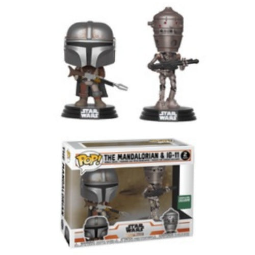 The Mandalorian & IG-11, 2-Pack, Barnes & Noble Exclusive, (Condition 7/10)