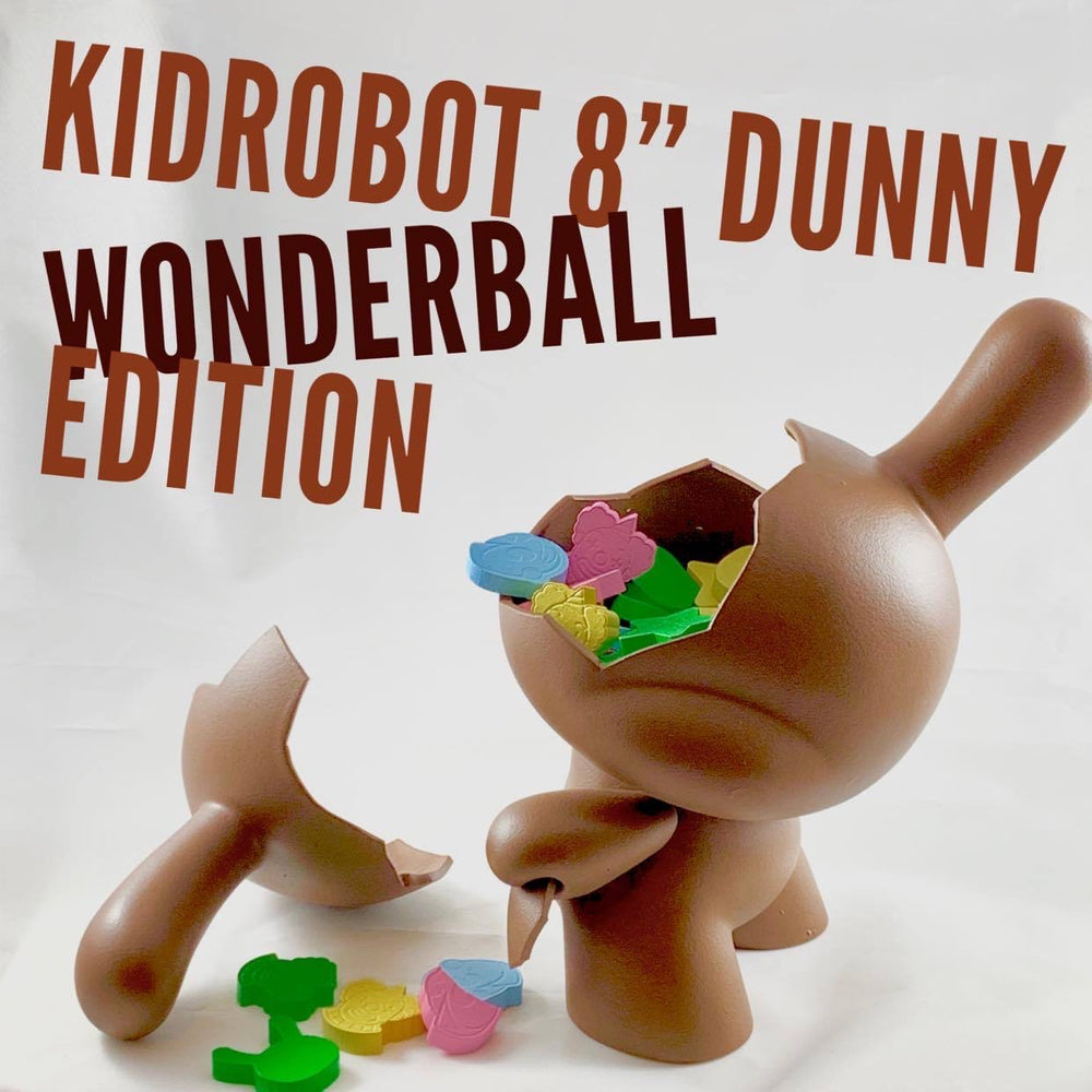 "Wonderball Dunny (8"") By Red Guardian - Smeye World"
