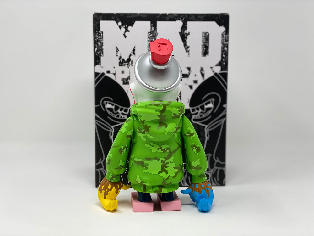 Mad Spraycan Mutant OG Street by MAD X Martian Toys