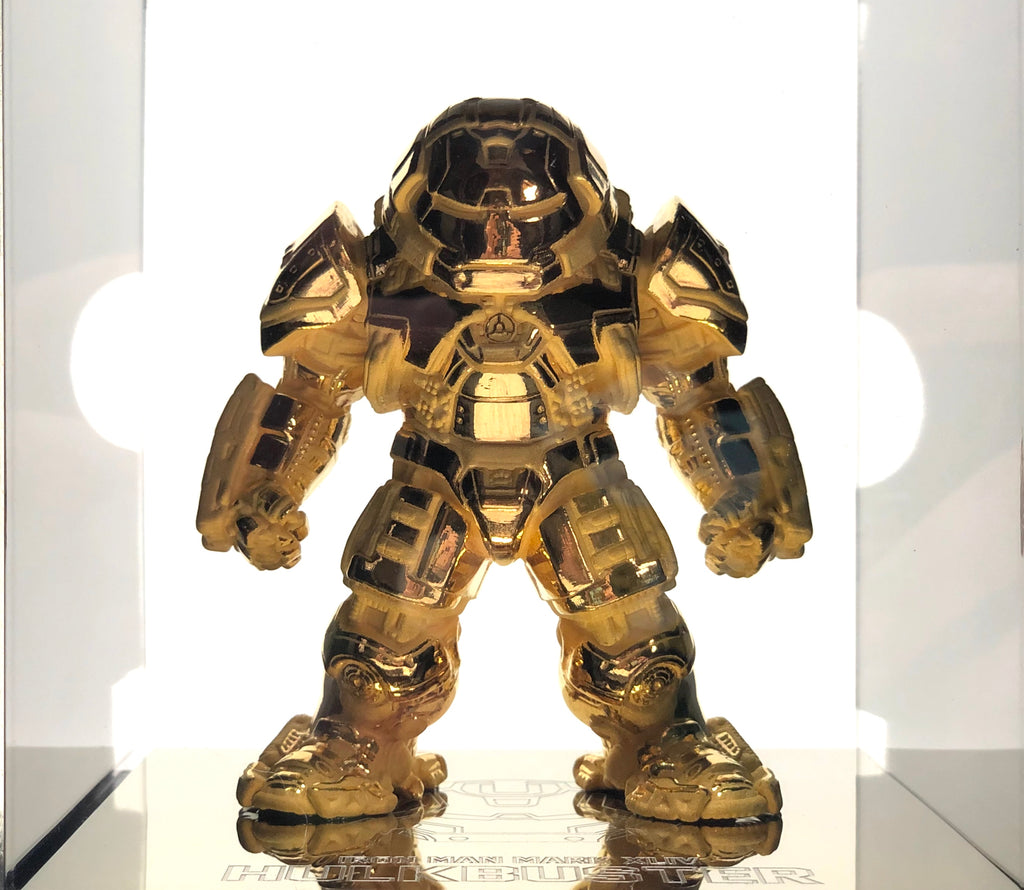 24K Gold Plated Iron Man Mark 44 (LE1000) SDCC 2016 Beast Kingdom Exclusive - Smeye World