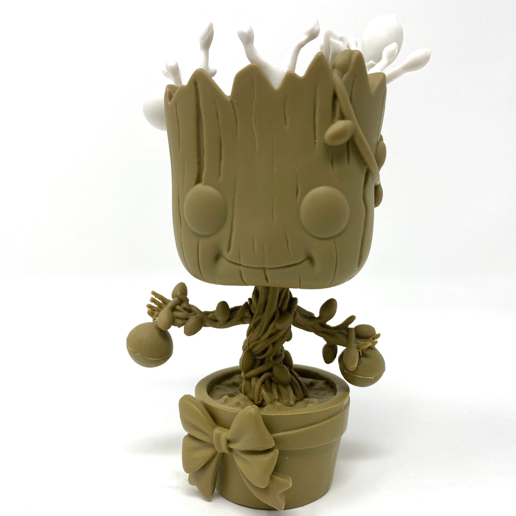 Holiday Groot Funko Prototype